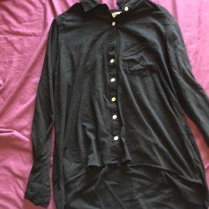 L button up blouse